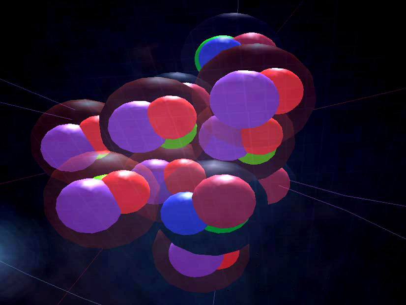Delight in actual 3D models of Atoms!