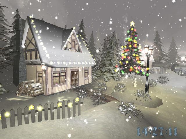 Feel the magic of Christmas with Christmas Time 3D screensaver!