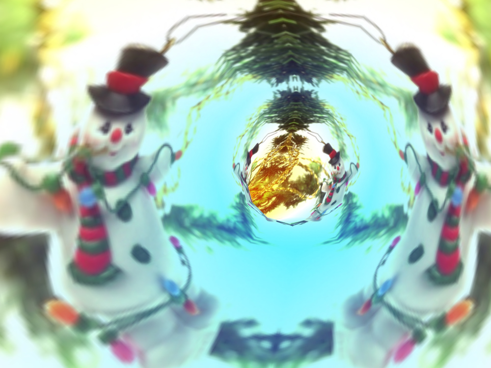 Screenshot of 3D Merry Christmas Tunnels ScreenSaver