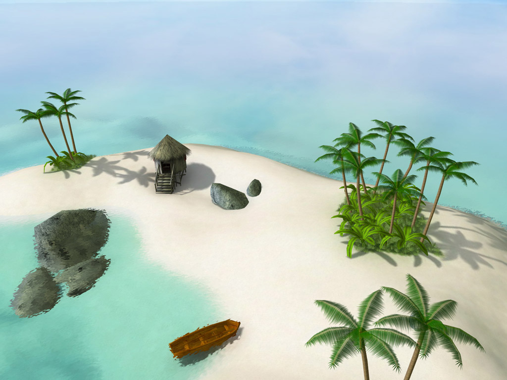screensaver,screensavers,screen,saver,3d,nature,oasis,sea,ocean,paradise,coast,shore,calm,rest,journey,download