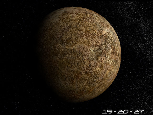 Mercury 3D Screensaver. Outstanding 3D Model of the ...