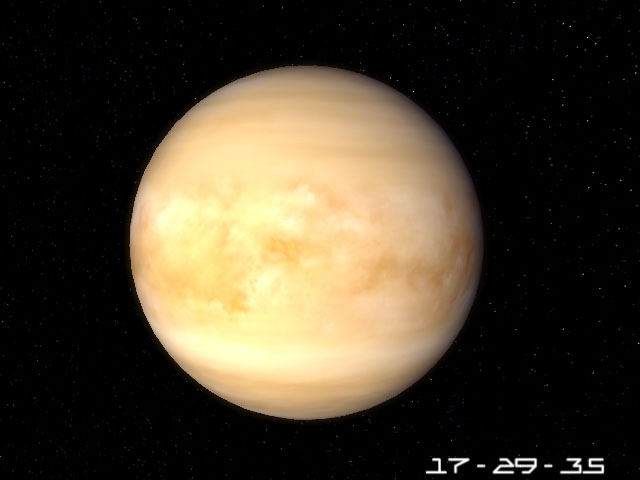 Planet Venus 3D Screensaver is a great 3D model of the planet Venus.: 7art-screensavers.com/planet-venus-screensaver.shtml