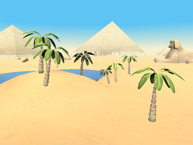 Egyptian Pyramids Clip Art http://7art-screensavers.com/pyramids-of-egypt-3d-screensaver.shtml