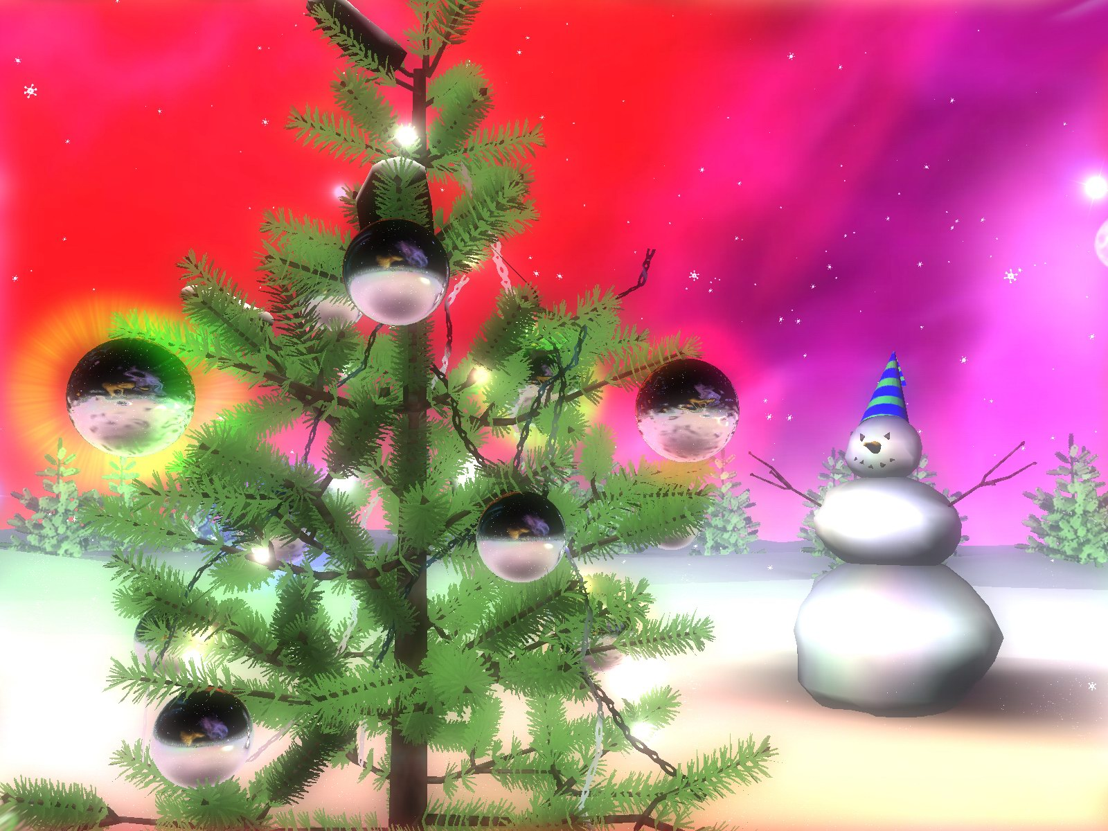 Imagine Christmas on the other planets! Let's see what's really happening there!