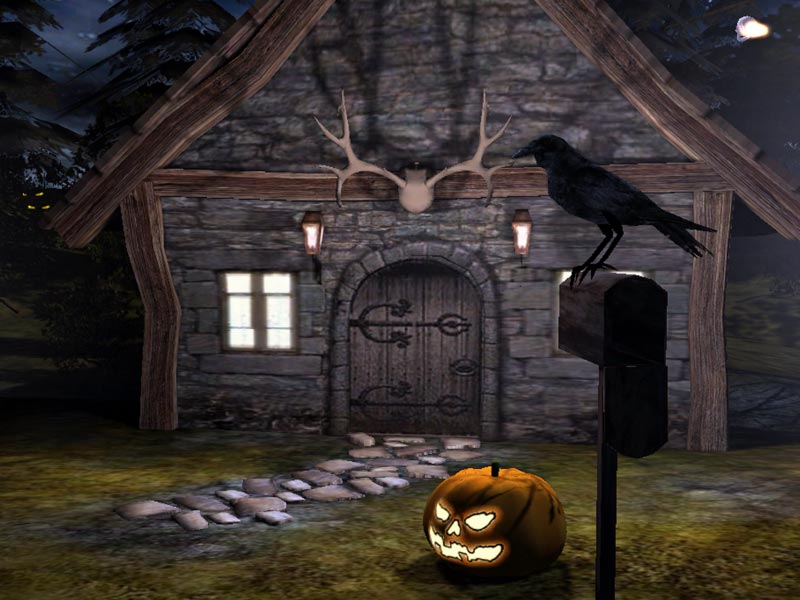 3D Spooky Halloween: are you brave enough to trick or - Spooky Halloween