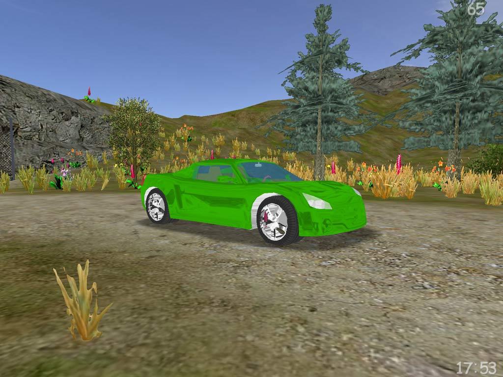 Take a drive around a beautiful island in 3D