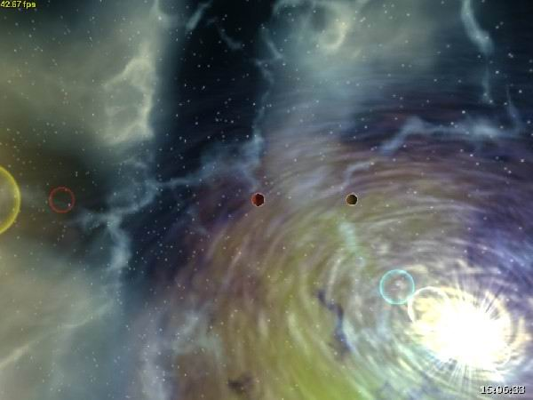See the blast of supernova near two stars and a black hole for Space blast 3d