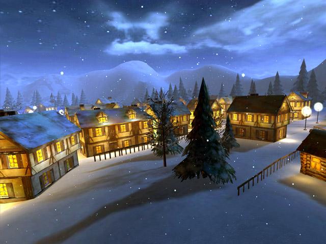 3d winter night screensaver - photo #2