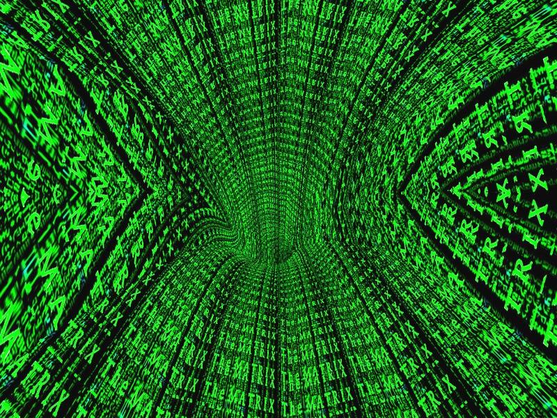Neo Matrix 3d screensaver by