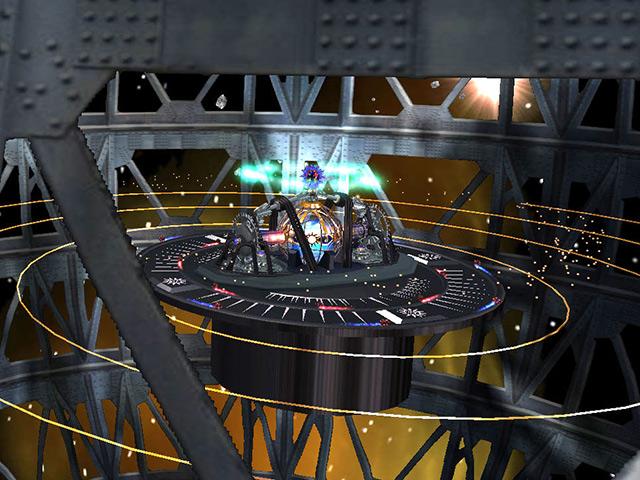 7art Alien Clock 3D screensaver