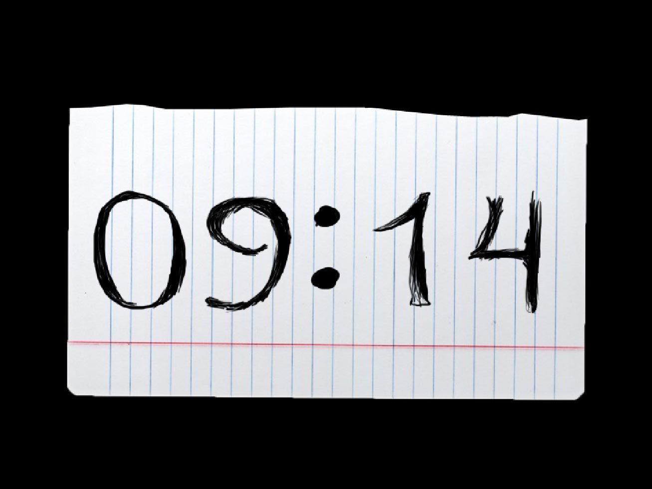 Blot Clock screensaver