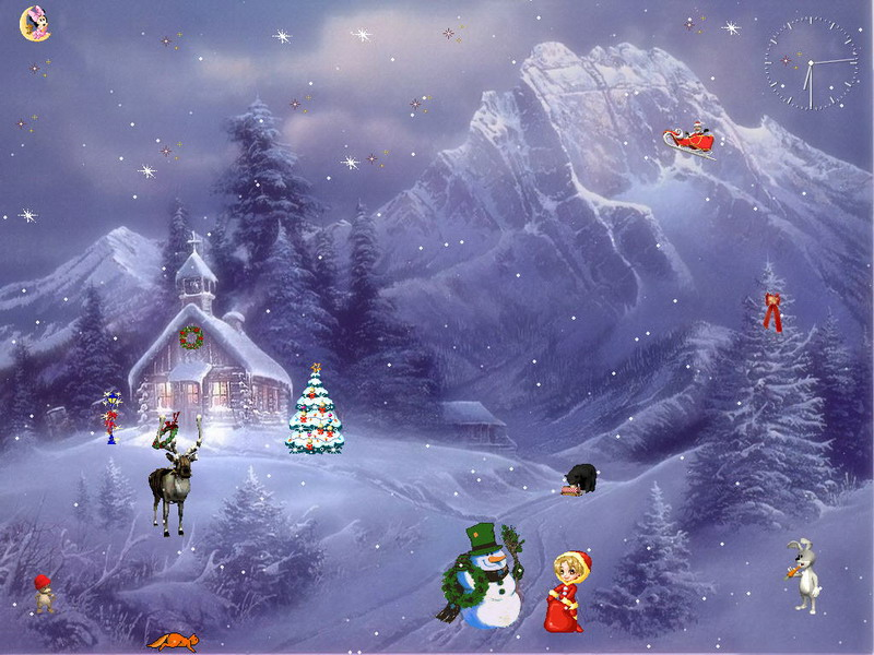 Christmas Adventure ScreenSaver