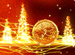 7art Christmas Lights Clock - Call in your joyful spirits and treat your life with special lights!