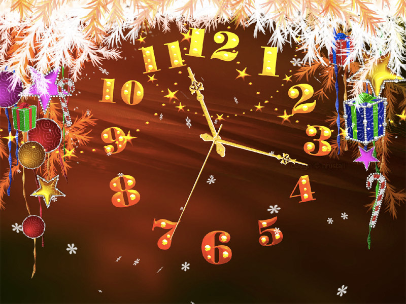 Christmas Promise Clock ScreenSaver