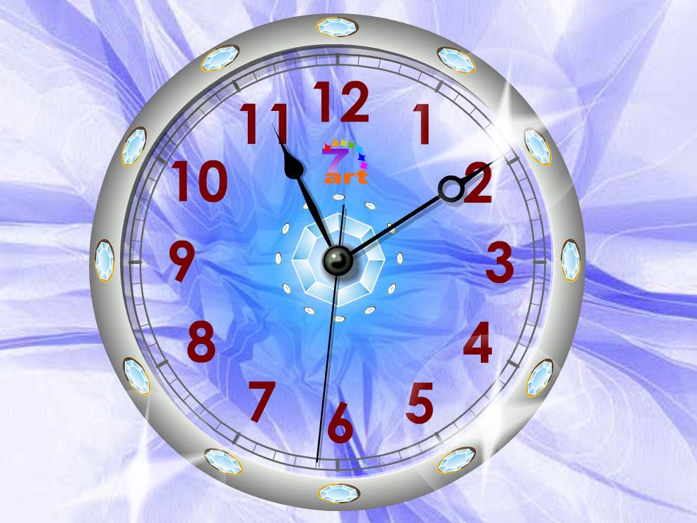 Windows 7 live wallpaper clock