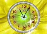 Crystal Clock screensaver makes time work wonders!