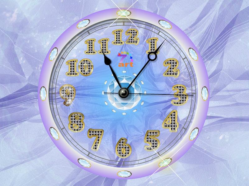 Crystal Clock diamond screensaver fills your life with ...