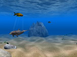 Dolphin Aqua Life 3D turns you desktop into a porthole for viewing charming underwater scenes with rocks, plants and tropical fish. You can also become a virtual dolphin swimming through the water and observing underwater life from an underwater perspective.