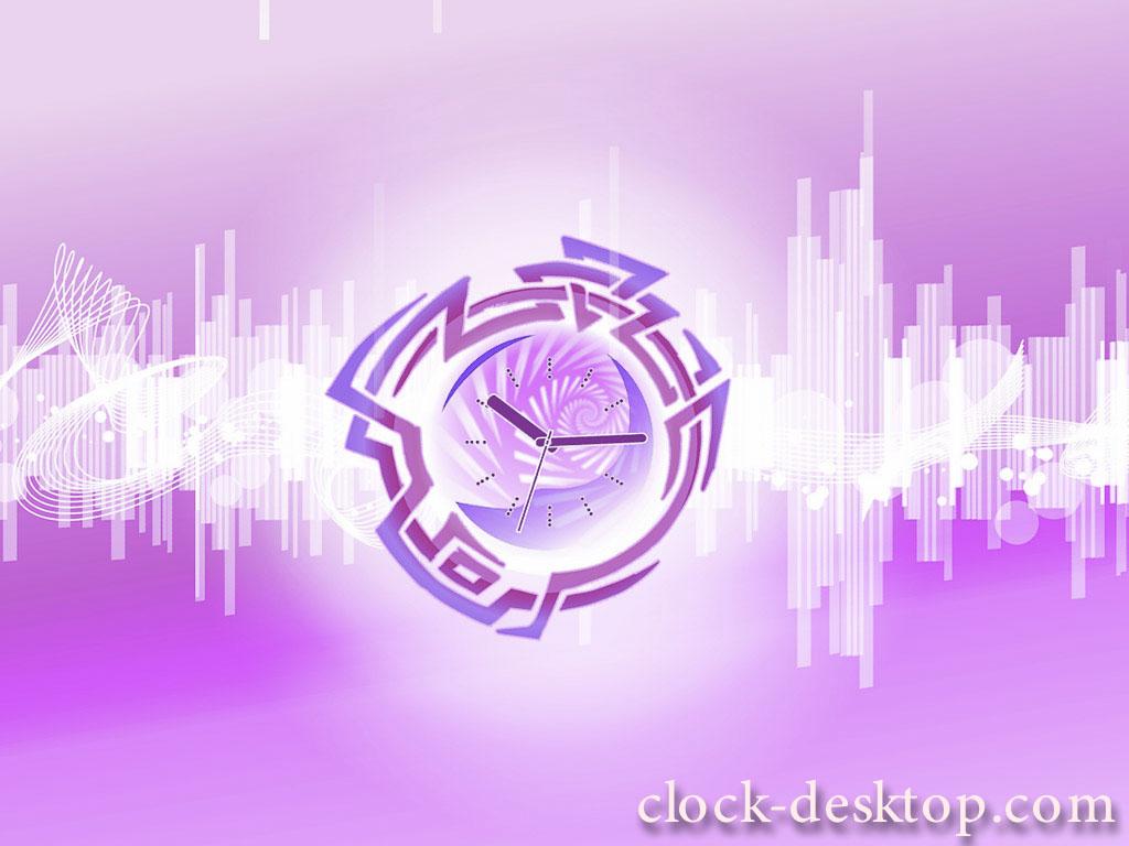 Downtempo Space Clock Live Wallpaper