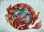 7art Dragon Year Clock screensaver - Call Dragon to feel his power surrounding you in 2012!