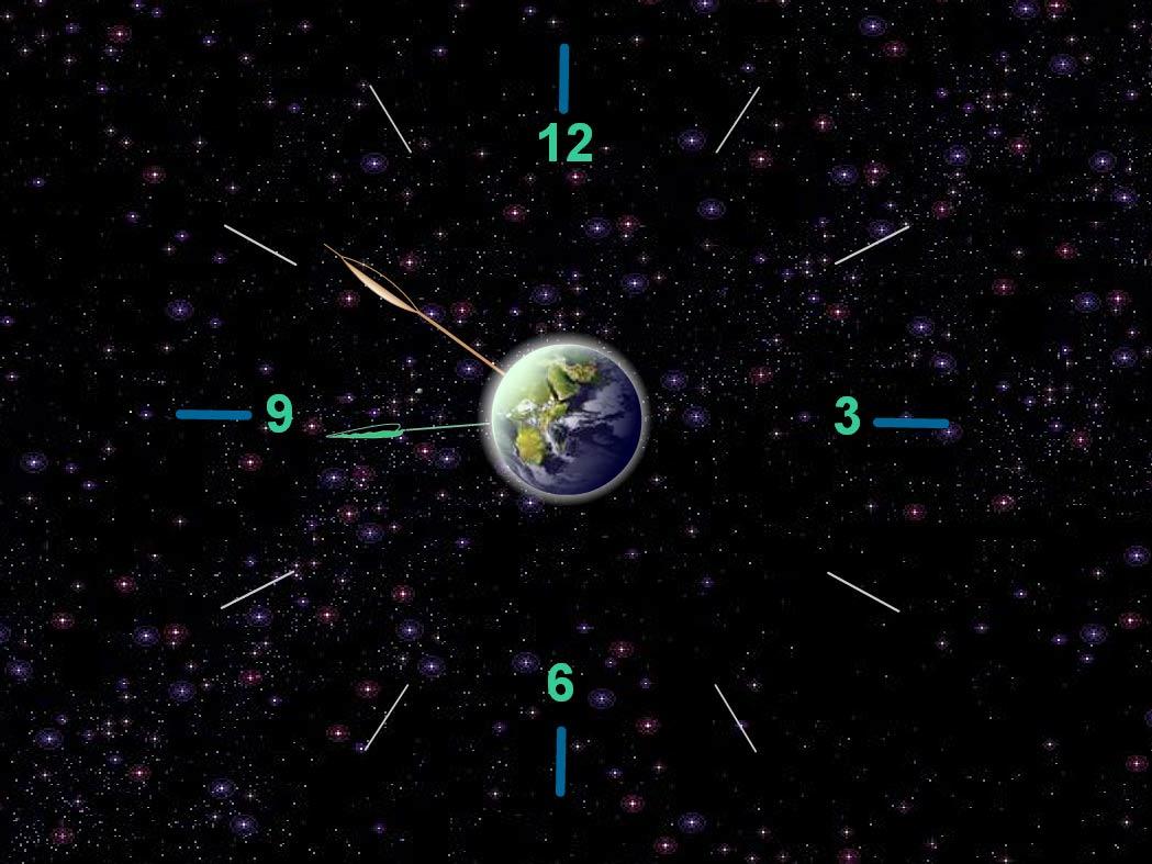 Satovi  Earth-clock-01