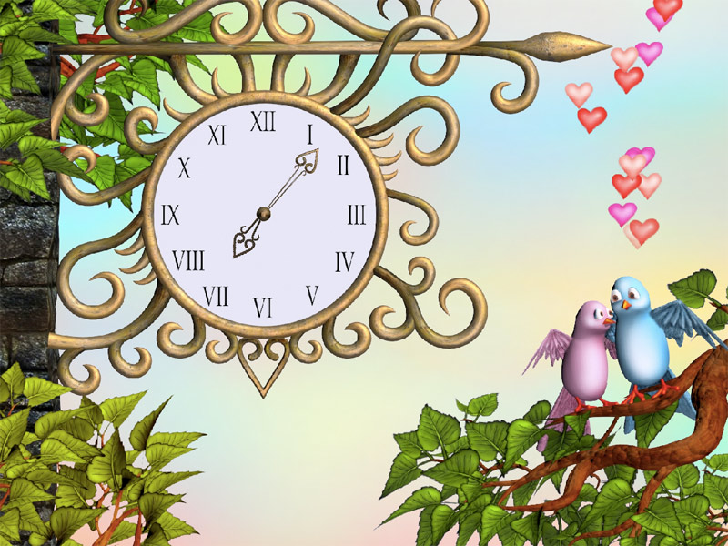 clock screensaver for mobile phone free download