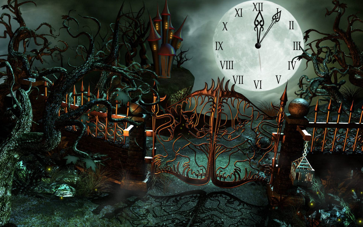7art fantasy castle clock screensaver enigmas and puzzles in fantasy castle for you