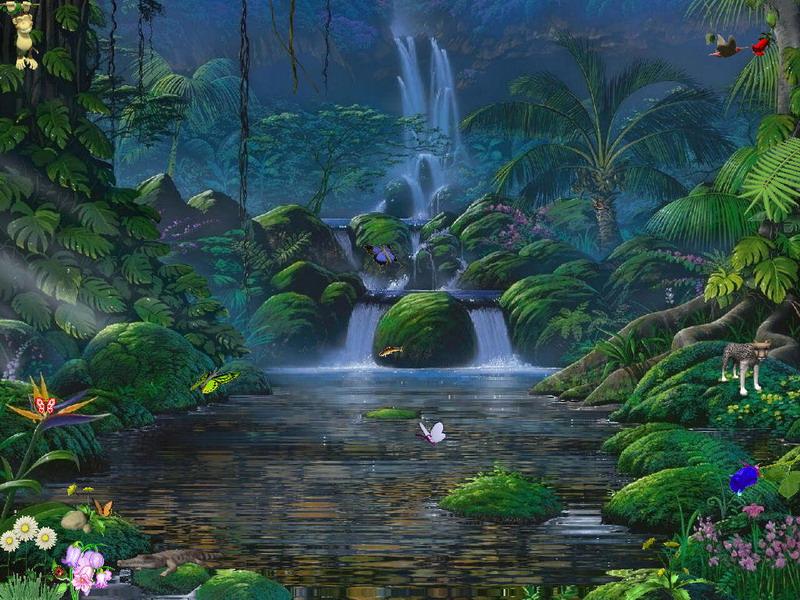 Waterfalls Screensaver