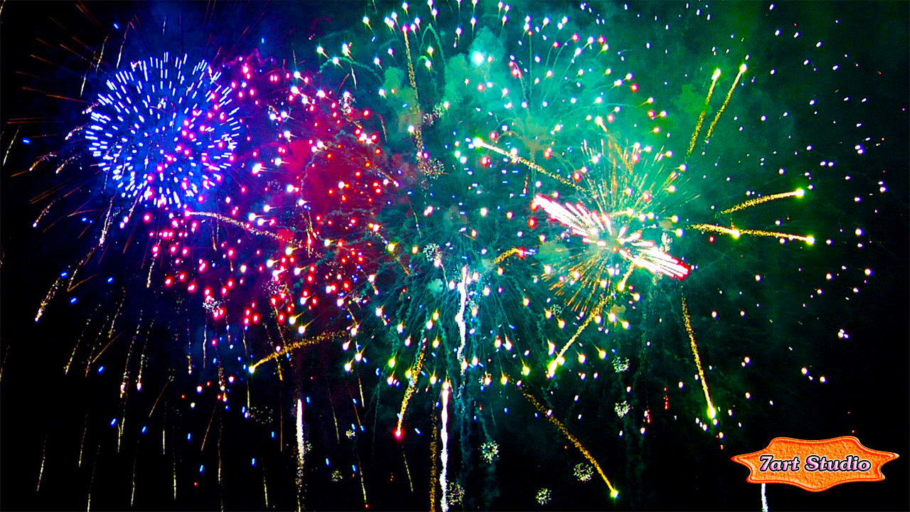 flower fireworks screensaver for windows and free live wallpaper for