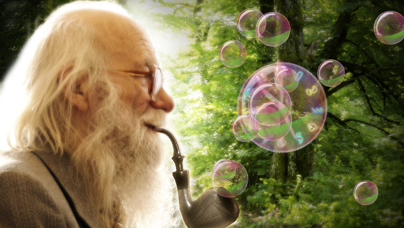 Gandalf Bubble Clock ScreenSaver screenshot: screen,saver,screensaver,desktop,clock,image,picture,decorate,desired,intimacy,Nature,chances,dream up,reality,unfold,unlimited,imagination,serene,existence.