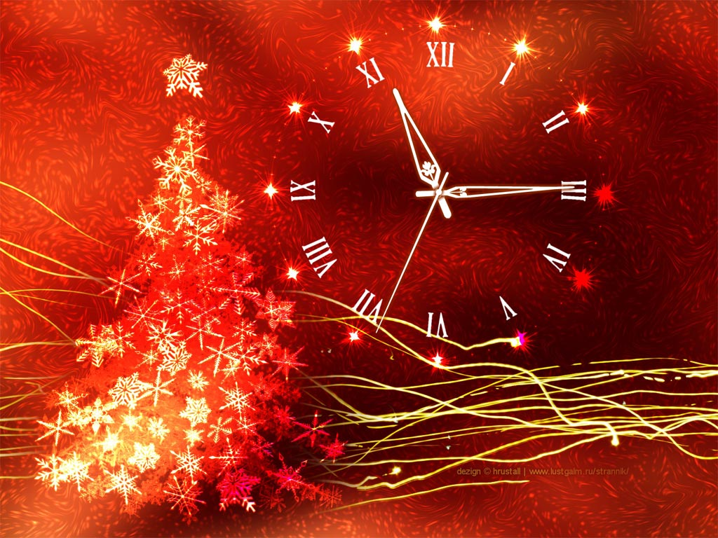 Gold Glow Christmas Clock is a nice mix of the elegant red and the joyful gold! Screen Shot