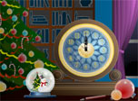 Magic Christmas Clock screensaver