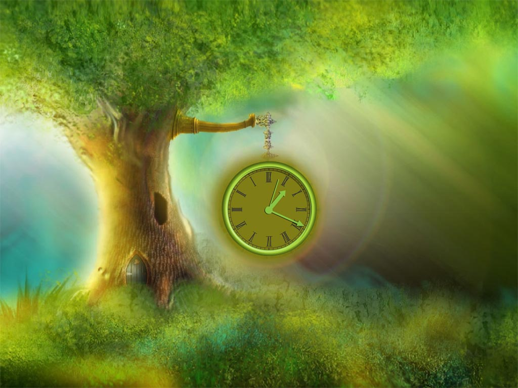 Magic Tree Clock Screensaver Screenshots