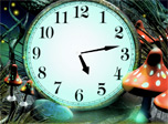 7art Magic Forest Clock screensaver - Enter the Magic Forest and know its mysteries!