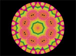 Mandala Kaleidoscope screensaver free download. Click on image to see it in full size!