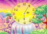Oasis Clock screensaver: stretch the time in a perfect tropical place!