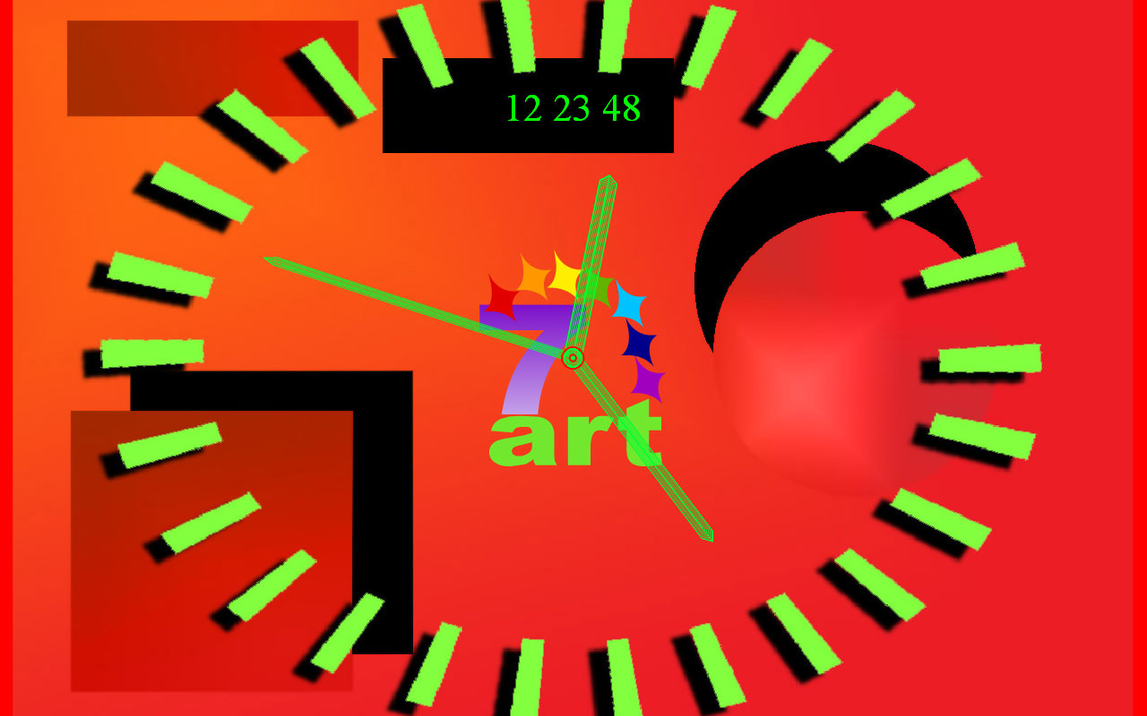 Once upon a time in ancient Greece there was a genius philosopher and mathematician Pifagor. In addition he made an important contribution to understanding antithesises as the harmony. 7art Pifagor Clock will help you to find ingenious solutions to harmonize your everyday event flow!