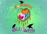 Romantic Halloween screensaver - loose your head and fall in love!