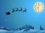 7art Santa's Christmas Flight screensaver - all the gifts are on its way!