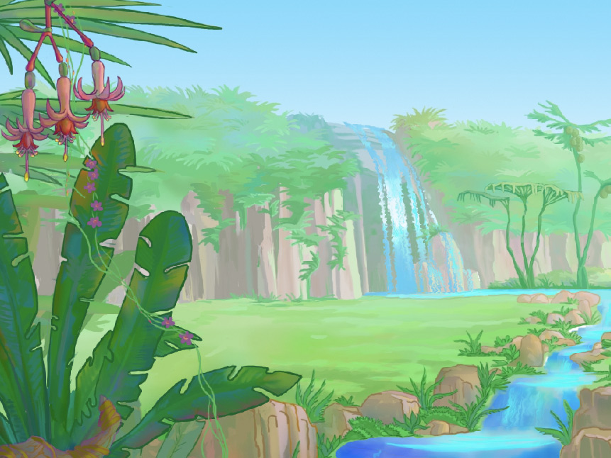 Secret Land ScreenSaver