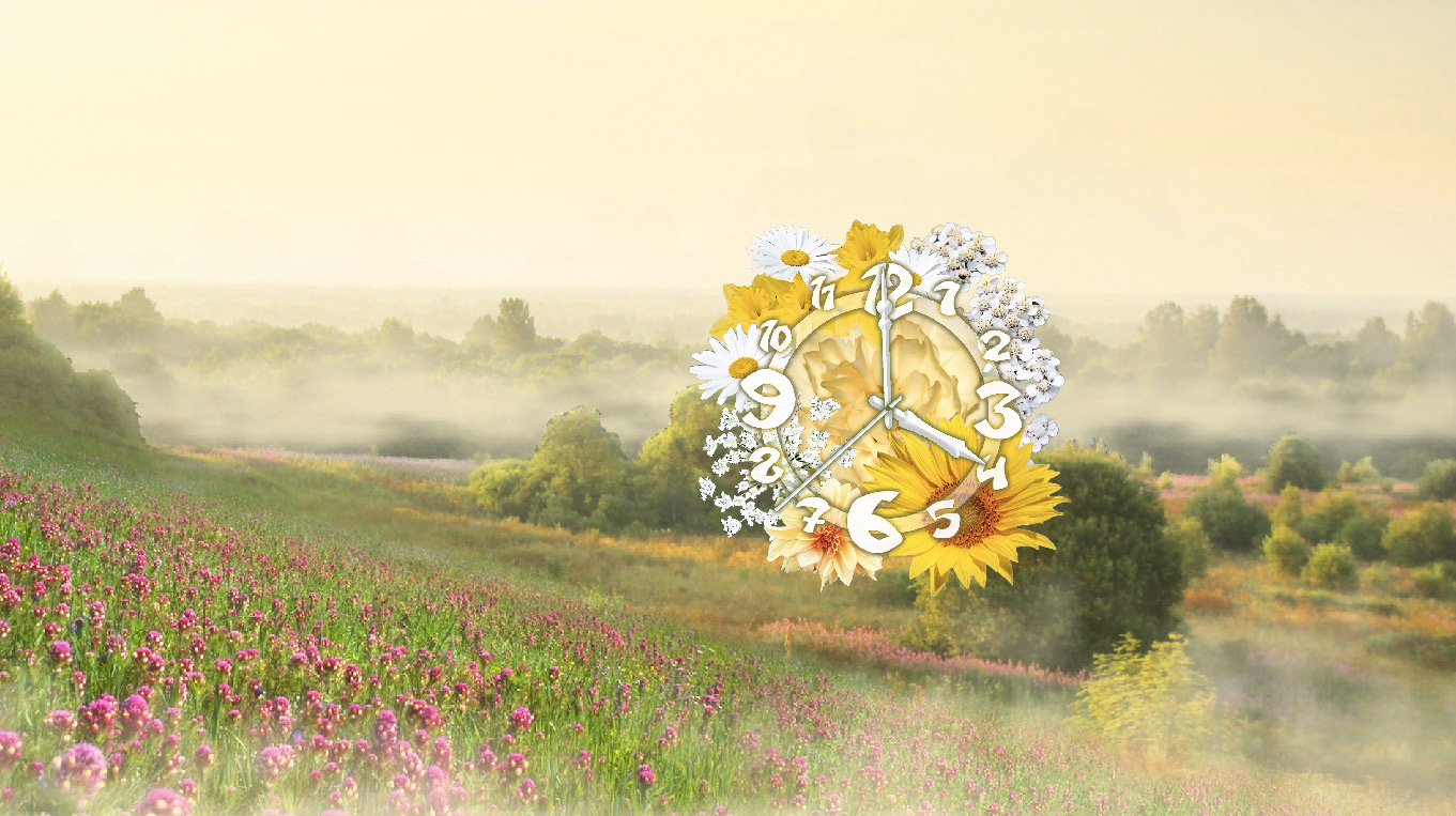 Valley Clock ScreenSaver