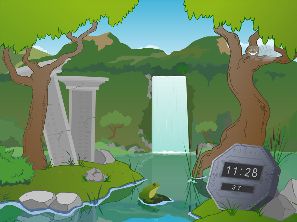 Waterfall Live Animated Wallpaper