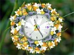 Natural Flower Clock found in fairy tale.