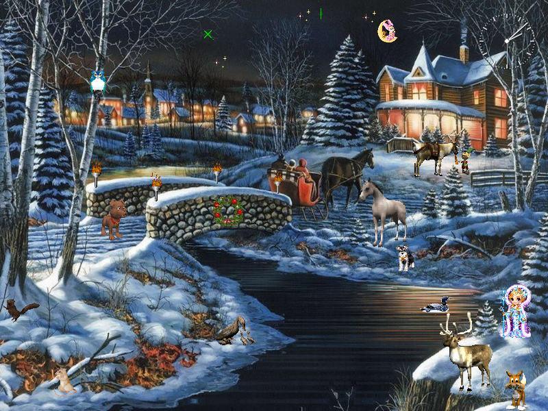 Winter Fantasy Screensaver: Take A Big Breath Of Fresh