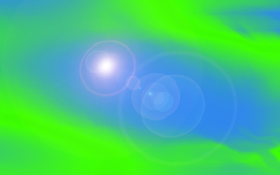 Get full resolution green-blue-lens-flare image for free!